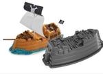 T22: Pirate ship cake tin