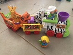 TS33: Little people musical zoo train