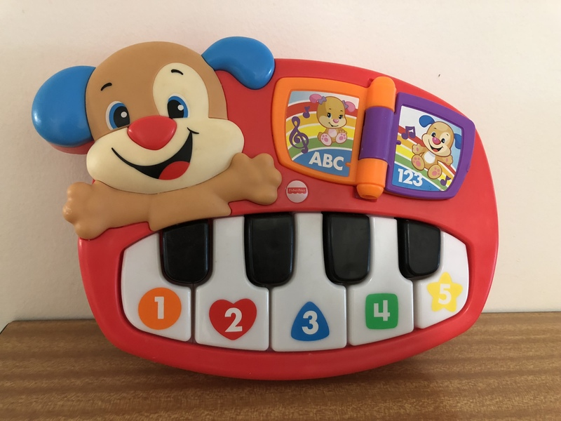 B050: Fisher Price Keyboard