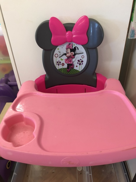 B55: Minnie Mouse Booster Seat