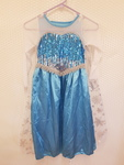 R115: Blue frozen dress