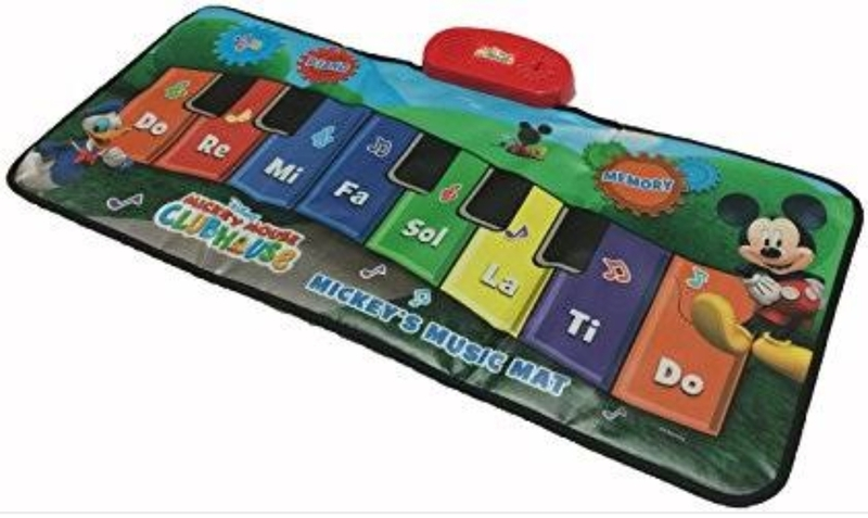 M9: Mickey mouse musical play mat