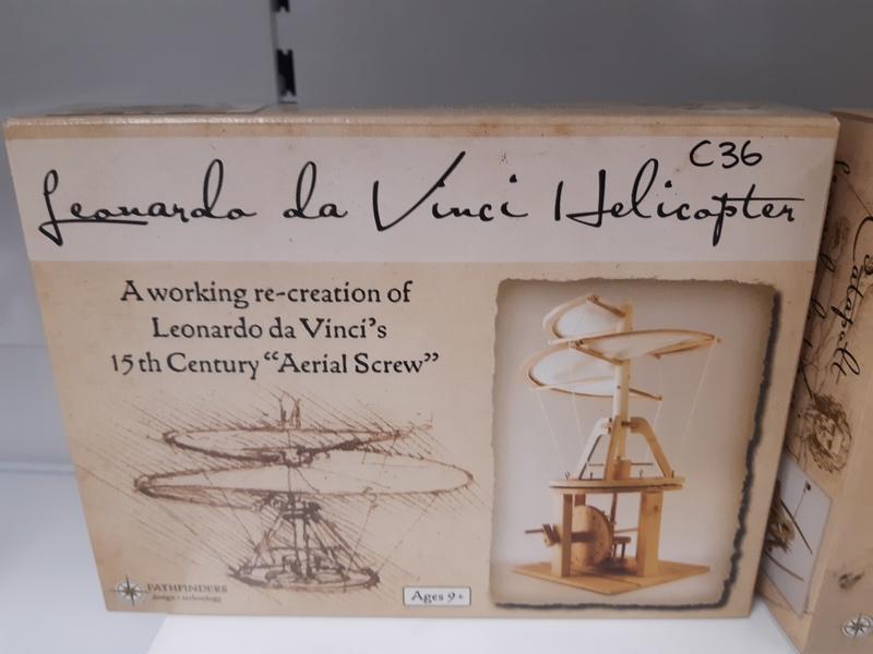 C36: Leonardo DaVinci Helicopter