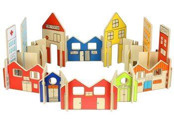 C09: The Happy Architect Town Set – 26 pieces