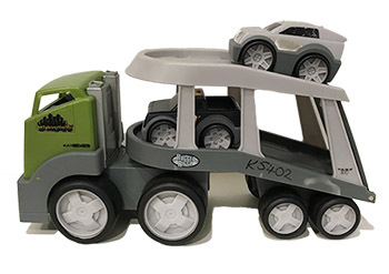 K5402: Rugged Riggz Transport Truck & Cars