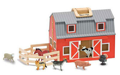 T5503: Red Wooden Barn