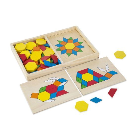 K3488: Pattern Blocks and Boards