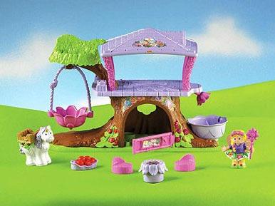 T511010: Little People Fairy Treehouse