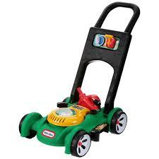 T511344: Lawnmower with petrol can