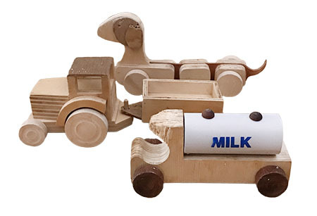 T5448: Wooden Toys Pack