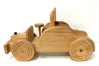 T54007: Wooden Fire Engine