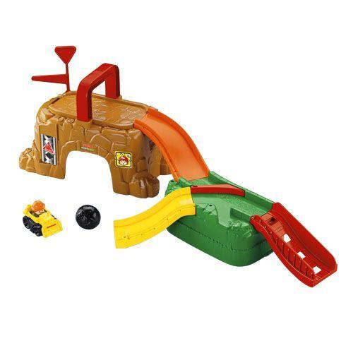 T5421: Little People Roadworks Set