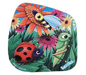 T8129: Garden Friends - Ladybird Puzzle