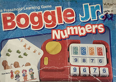 K9404: Boggle Numbers