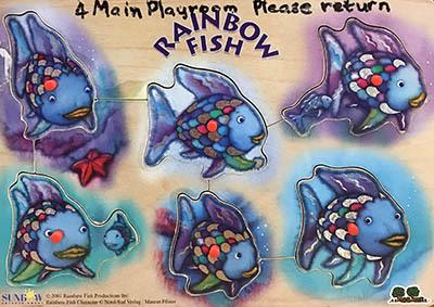 T8136: Rainbow Fish Puzzle