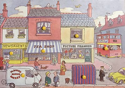 T8172: Street Scene Puzzle