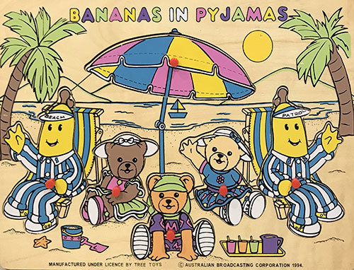 T8139: Banana In Pyjamas Inset Puzzle