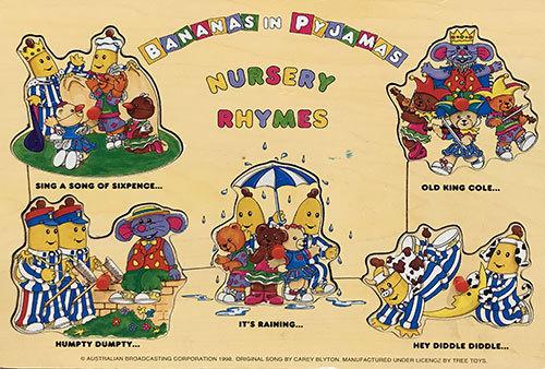 T8141: Bananas In Pyjamas Nursery Rhymes