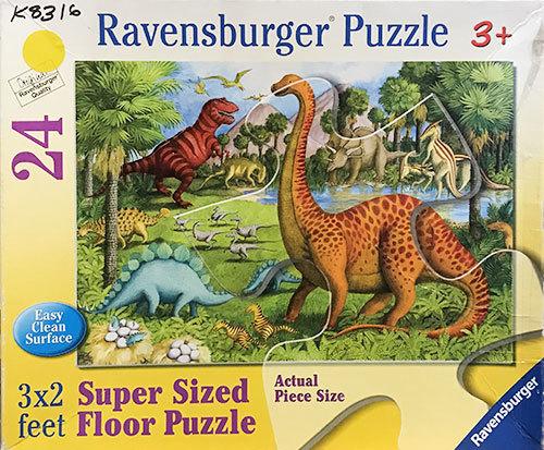 K8316: Dinosaur Floor Puzzle