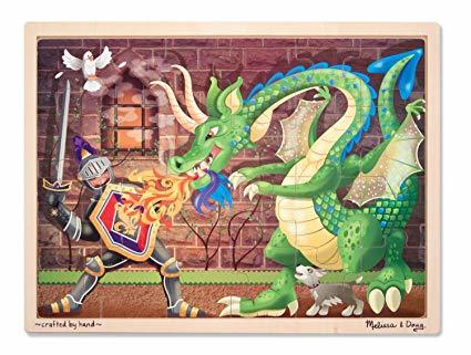 K8225: Knight and Dragon Jigsaw