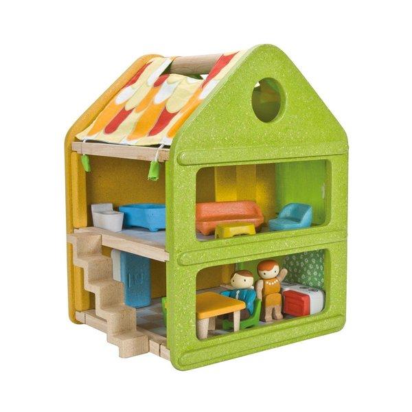 T4301: Wooden Dollhouse