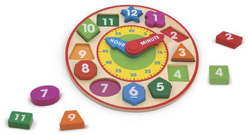 T8187: Shape Sorting Clock