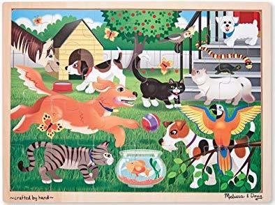 K8219: Pets At Play Jigsaw
