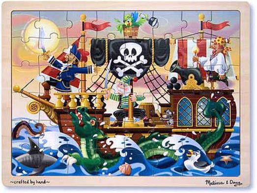 K8221: Pirate Adventure Jigsaw