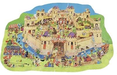 S8308: Castle Puzzle