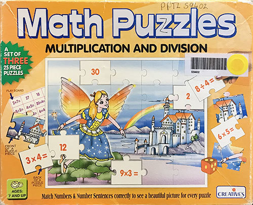S9402: Math Puzzles: Multiplication and Division