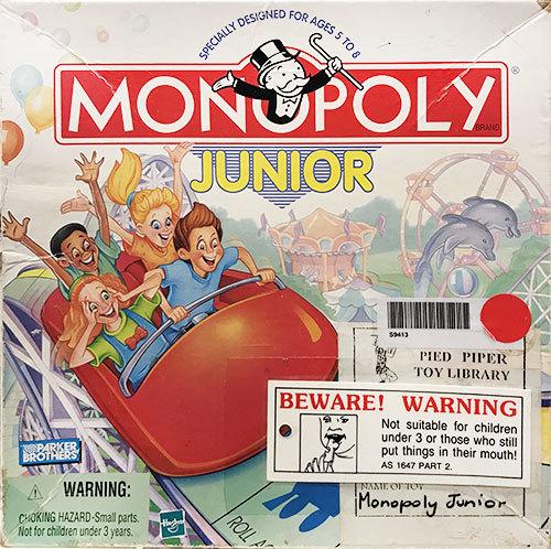 S9413: Monopoly Junior