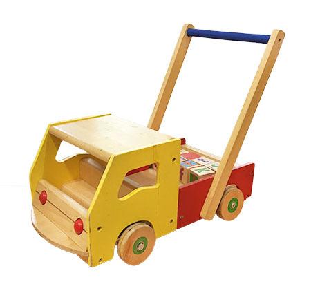 T1345: Truck Trolley & Blocks