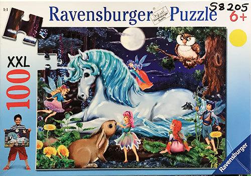 S8205: Unicorn and Fairies Puzzle