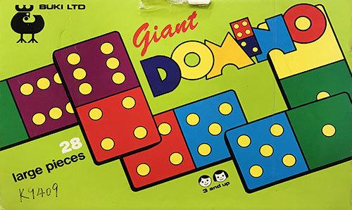 K9409: Giant Domino