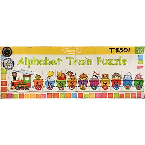 T8301: Alphabet Train Puzzle