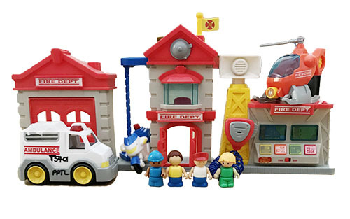 T5401: Fire Station Rescue Set