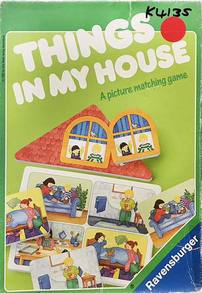 K4135: Things in My House Game