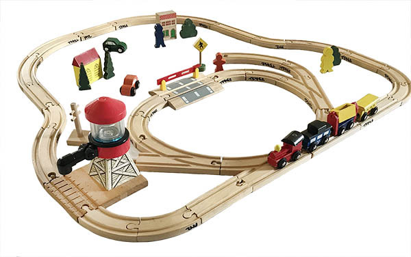 T5462: Wooden Trainset
