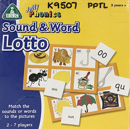 K9507: Sound and Word Lotto