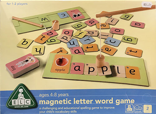 S9501: Magnetic Letter Word Game