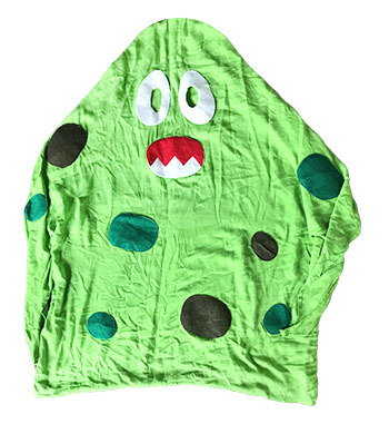 S5210: Green Ghost Costume
