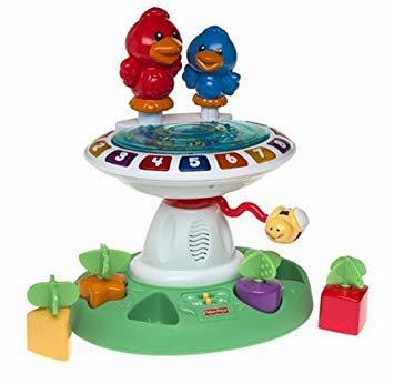 T6138: Musical Bird Bath Toy