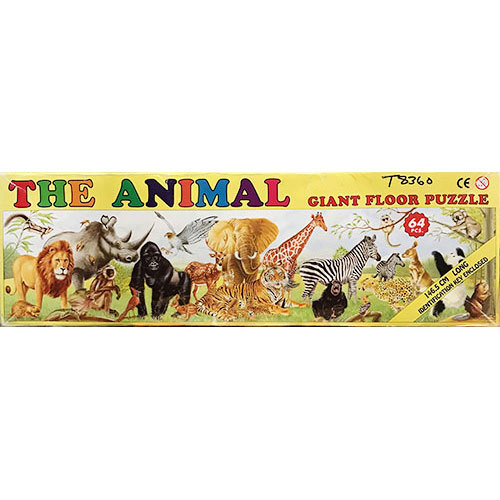 T8360: Animal Floor Puzzle