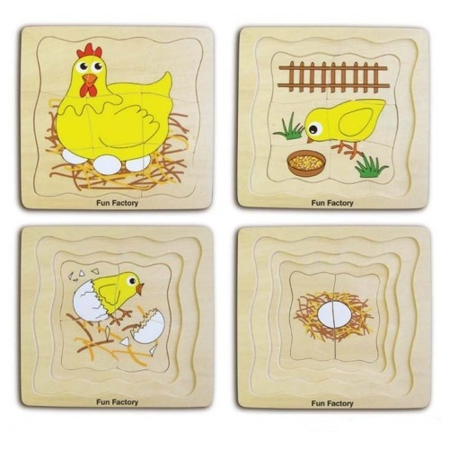 K8106: Four Layer Chicken Puzzle