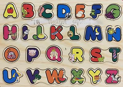 T8134: Alphabet Puzzle