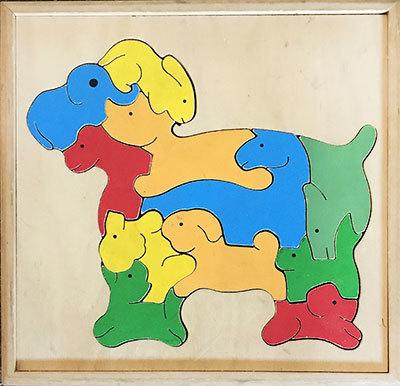 K8256: Animal Puzzle