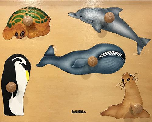 T8138: Sea Animals Puzzle