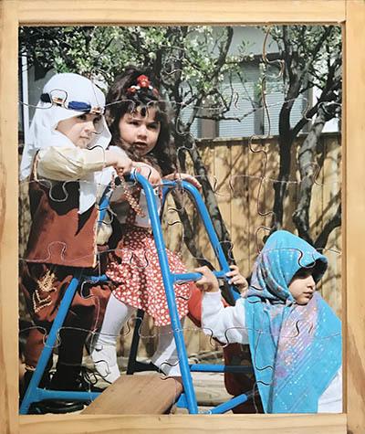 K8262: Kinder Dress Up Time Puzzle