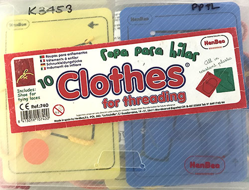 K3453: Clothes for Threading