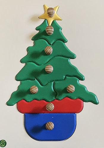 K8101: Christmas Tree Puzzle